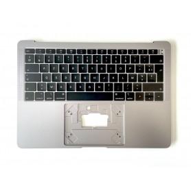 "Clavier Topcase Apple MacBook Air 13"" A1932 2018/19 Gris Sideral Francais Azerty"