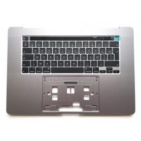 "Clavier Topcase Apple MacBook Pro 16"" A2141 2019 Gris Sideral Francais Azerty"