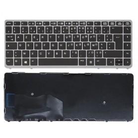 Clavier HP EliteBook 840G1/G2 845G2 850G1 855G1 Français Azerty Argent