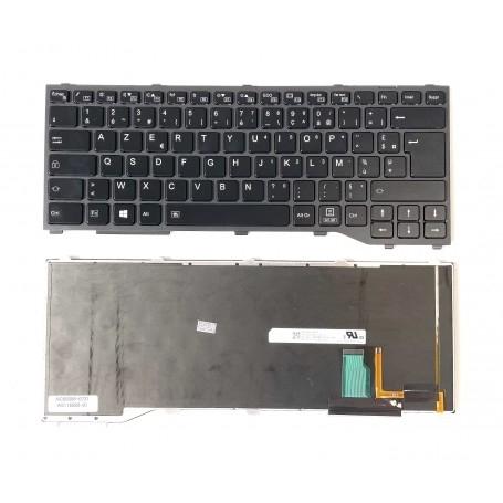 Clavier Fujitsu Lifebook T937 T938 Rétro-éclairé Français Azerty Noir