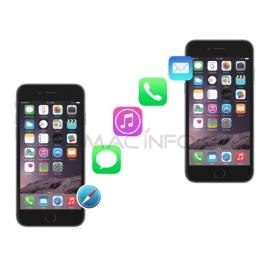 Transfert de données iPhone