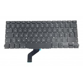 "Clavier Apple MacBook Pro Retina 13"" A1425 2012 2013 Français Azerty"