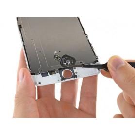 Réparation bouton Home + nappe iPhone 6 Plus Argent