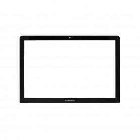"Vitre Ecran Apple MacBook Pro 15"" A1286 verre avant +autocollant fixation"