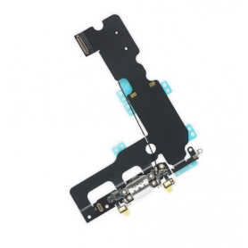 Connecteur Charge Apple iPhone 7 Plus Blanc Nappe Interne + Micro
