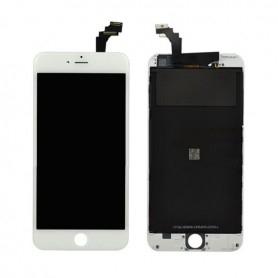 Ecran Apple iPhone 6 Plus Original LCD + vitre tactile assemblé chassis Blanc