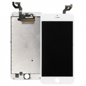 Ecran Apple iPhone 6S Original LCD + vitre tactile assemblé chassis Blanc