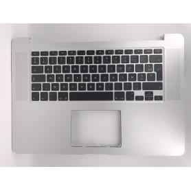 "Clavier Apple MacBook Pro Retina 15"" A1398 EMC2674 2876 2881 Topcase Français"