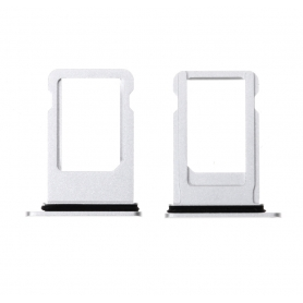 Tiroir Carte Sim Apple iPhone 7 Plus Argent Support Interne Nano