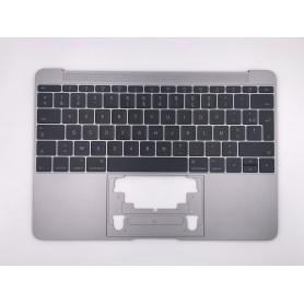 "Clavier Topcase Apple MacBook 12"" A1534 Gris Sideral 2016 2017 Français Azerty"
