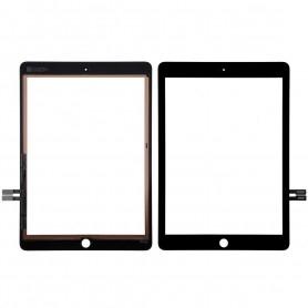 Vitre tactile Apple iPad 6 Noir A1893 A1954 2018  + Bouton home