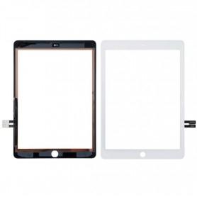 Vitre tactile Apple iPad 6 Blanc A1893 A1954 2018  + Bouton home