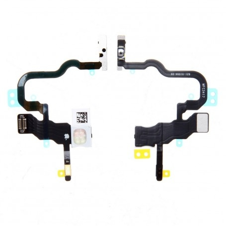 Bouton Power Apple iPhone X Allumage On/Off + Flash Nappe Interne Assemblé