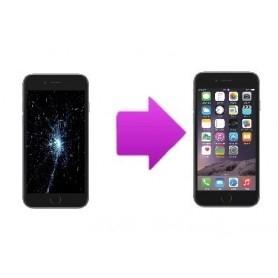 Forfait Réparation Remplacement écran Apple iPhone 6S Plus Noir - Premium