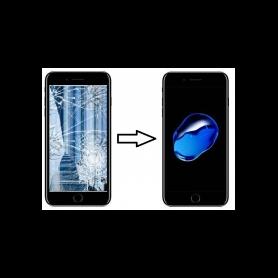 Forfait Réparation Remplacement écran Apple iPhone 7 Plus Noir - Premium