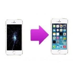 Forfait Réparation Remplacement écran Apple iPhone 5S/SE Blanc - Premium
