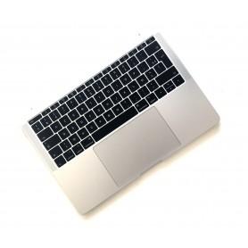 """Clavier Topcase Apple MacBook Pro 13"""" A1708 EMC 2978 3164 Argent Francais Azerty"""