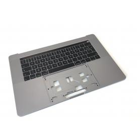 """Clavier Apple MacBook Pro 15"""" A1707 EMC 3072 3162 Gris Sidéral Topcase Assemblé"""