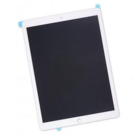 "Ecran Apple iPad Pro 12.9"" Blanc A1670 A1671 A1821 Dalle LCD + Vitre Tactile"