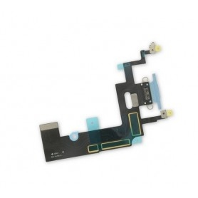 Connecteur Charge Apple iPhone XR Bleu Nappe dock micro interne