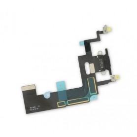 Connecteur Charge Apple iPhone XR Noir Nappe dock micro interne