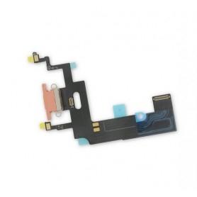 Connecteur Charge Apple iPhone XR Orange Nappe dock micro interne