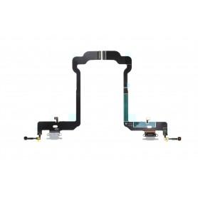 Connecteur Charge Apple iPhone XS Gris Nappe dock micro interne