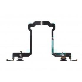 Connecteur Charge Apple iPhone XS Noir Nappe dock micro interne