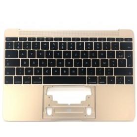 "Clavier Apple MacBook 12"" Or A1534 2015 EMC 2746 Topcase Français Azerty"