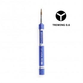 Tournevis Tri-wing Y 0.6mm pour iPhone / Watch précision démontage Interne