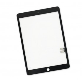 "Vitre Tactile Apple iPad 7 / 8 Blanc 10.2"" 2019 2020 Noir"