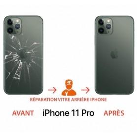 Réparation vitre arrière cassée iPhone 11 pro